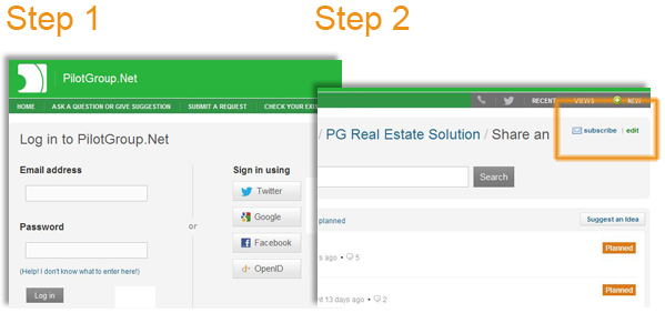 PG Real Estate customer service system