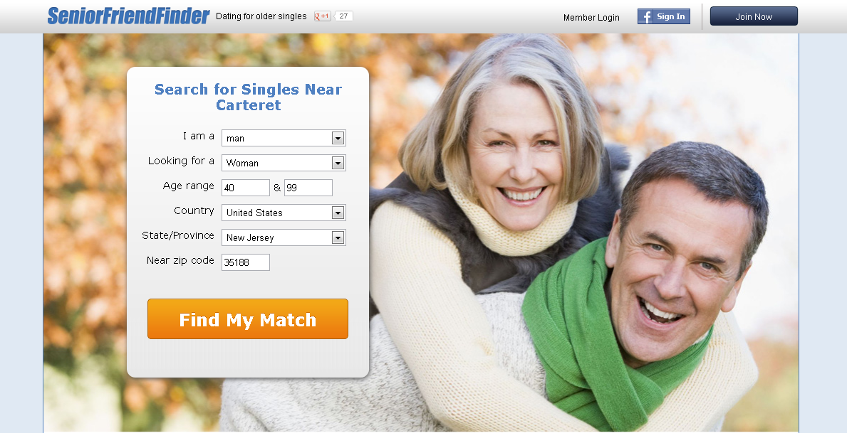 senior dating website