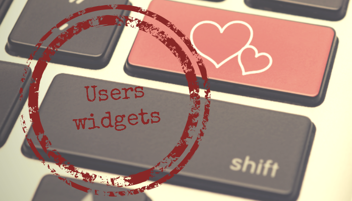 New set of widgets for Dating Pro script