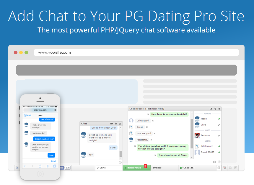 Pg pro dating site