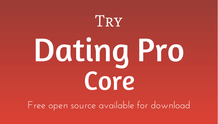 Online dating open source