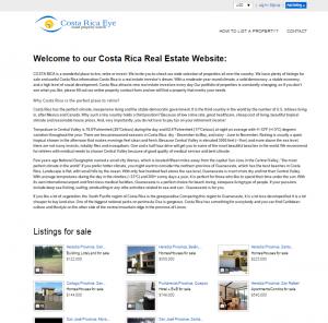 Costa Rica Eye