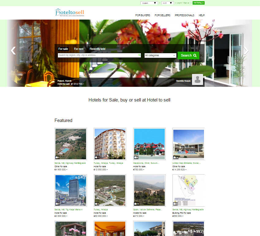 High Quality It Uses The Slideshow On Its Home Page Together With Featured Listings To  Captivate Viewers.