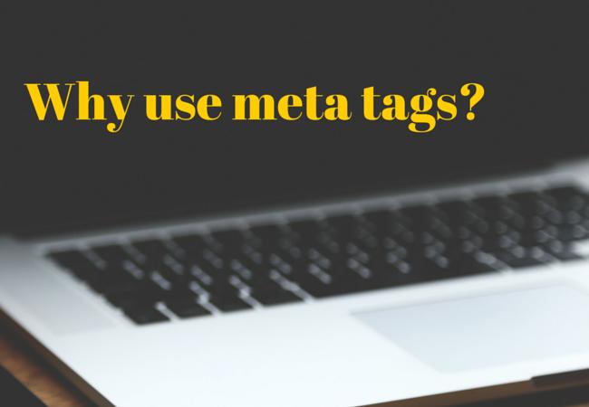 Why use meta tegs-